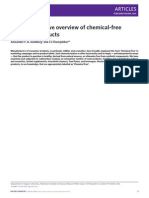 A chemical-free paper