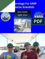 Meteorology For SARP Airborne Scientists - SARP 2014