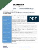 SMU Brand Strategy Template