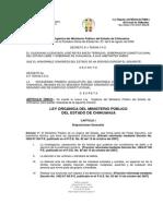 Ley Organica de La Proc. Chihuahua
