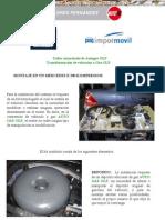 Manual Mercedes e200 Conversion Vehiculo Gas