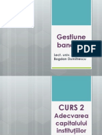 Curs 2 Gestiune Bancara