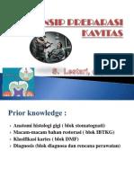 Prinsip Preparasi Kurhab II (Pert 1)
