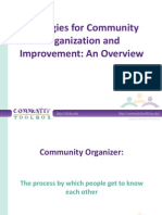 Community tool box- community strategies
