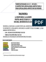 Inscriere Optionale 201nm4-2015