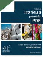 Têxtil - Panorama Do Setor Têxtil e de Confecções