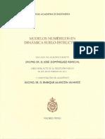 Modelos Numericos en Dinamica Suelo-estructura
