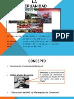 La Peruanidad Ft. Lucia Castillo