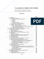 Finite Element Analysis and Design With Rubber