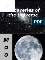 Discoveries of Universe