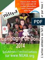 Affiches Campagne de Dons 2014 NILHA