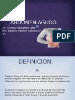 Abdomen Agudo Adriana