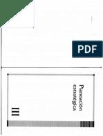 Planeacion Estrategica de Capacitacion Empresarial - Cap III