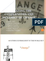 Change management ppt