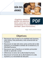 Diapositiva. Antropología Del Amor Humano.