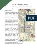 PR-2. Ruta Camino Del Molino. Folleto