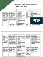 Diversificación Curricular - Matemática 1 grado sec.docx