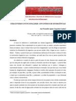 FuncionalismoX gerativismo