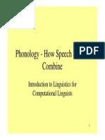 How Speech Sounds Combine