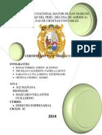 Marco Teorico-Derecho Empresarial Con Indice