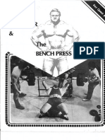 Bill Kazmaier - The Bench Press