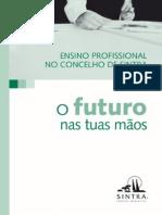 """Brochura """"O Futuro nas tuas mãos"""""""
