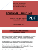 5. Sigurnost u Tunelima