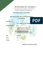 Tipos de Metodologia de Investigacion Cientifica