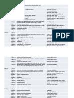 Programación Fiesta Del Mar 2014