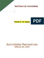 Manual Del Lider-Actividades Creativas-pablo y Cristianos