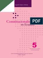 AGUSTIN GRIJALVA Constitucionalismo en Ecuador
