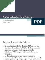 1S - Antecedentes históricos