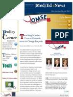 UA OMSE Med/Ed eNews v2 No. 10/11 (MAY/JUN 2014)