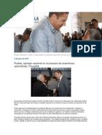 03-07-2014 Blog Rafael Moreno Valle - Puebla, ejemplo nacional en el proceso de enseñanza-aprendizaje, Chuayffet.