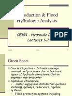 CE154 - Lecture 1-2 Hydrologic Study