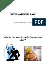 International Law Int Class