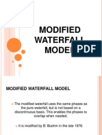 Modified Waterfall Method