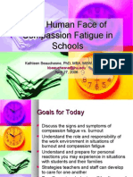 The Human Face of Compassion Fatigue in Schools