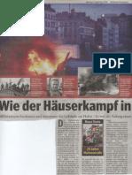 Hamburger Morgenpost und TAZ - 25 Jahre Hafenstrasse