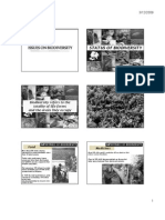 Bio3  Lec 20 BIODIVERSITY ISSUES