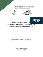 Control de Proyectos y Costos
