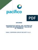 Informe 001 Diagnóstico Inicial CORPRISEG