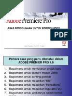 Kaedah Asas Menggunakan  Adobe Primer