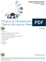 Modelos de Programación de OVAs - Luz M Franco