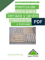 20916_madera Para Terraza y Jardin 2_ Suelos de Tablones y Baldosas