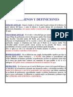 5 Términos y Definiciones