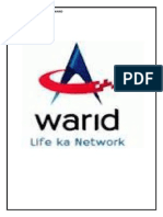 strategic marketing plan for Warid