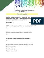 La Psicologia Del Color en Productos y Marcas