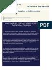 Oportunidades y Desafíos en La Educación a Distancia