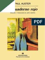 Paul Auster - El Cuaderno Rojo